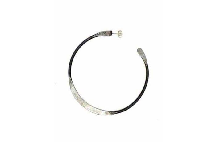 Snare Circle earrings