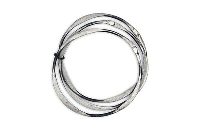 Snare Trio Circle Bracelet