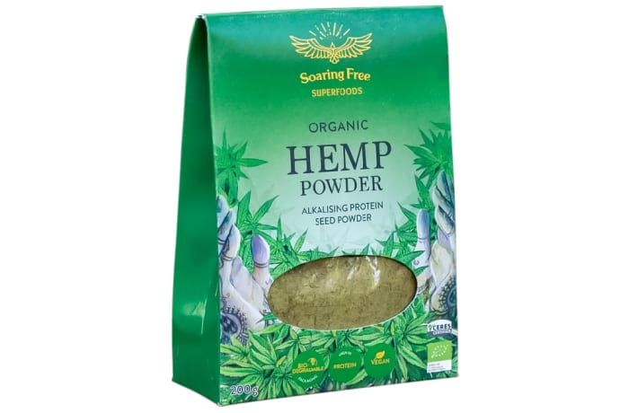 Organic Hemp Powder  Alkalizing Protein Seed Powder 200g