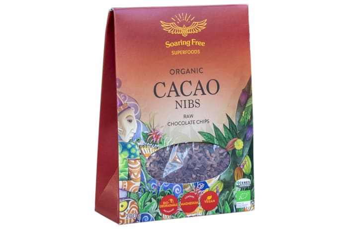 Organic Cacao Nibs  Raw Chocolate Chips 200g