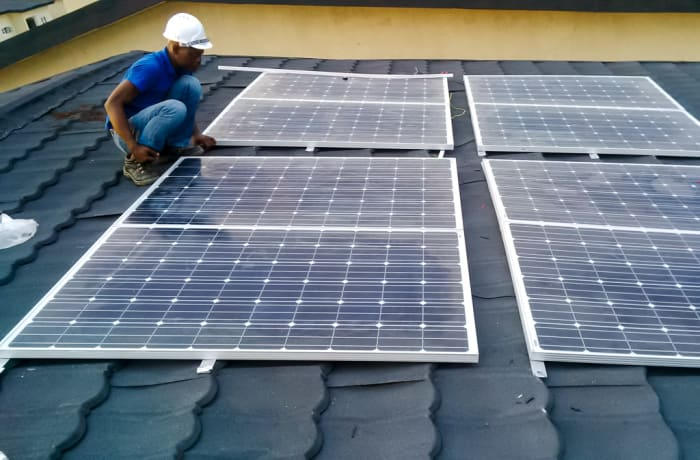 Solar project financing image
