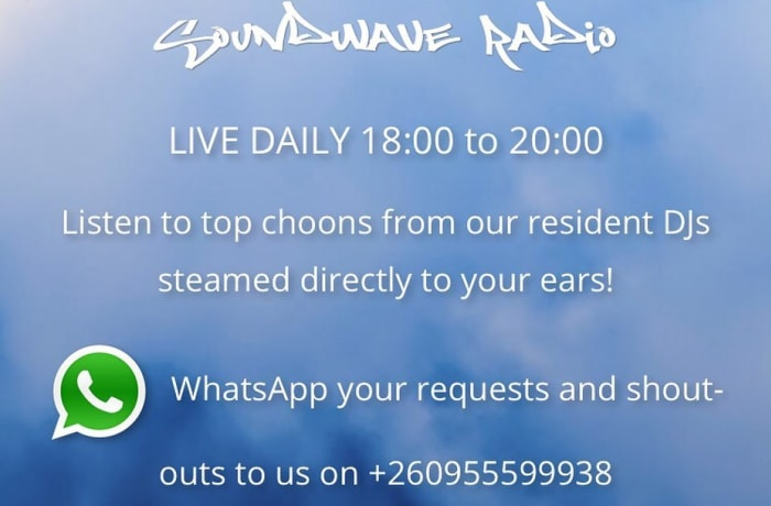 Soundwave Radio - Live daily from 18:00-21:00hrs CAT image