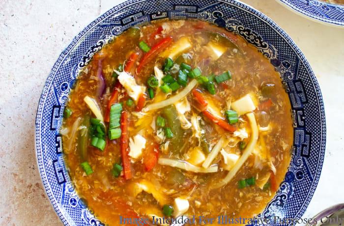 Soups - Vegetarian Hot 'N' Sour Soup