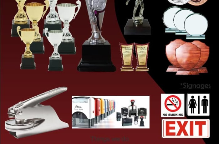 High quality sporting awards for corporate and recognised events image