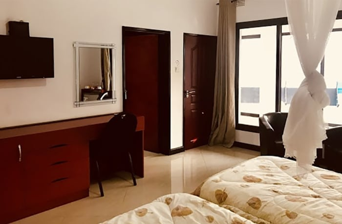 Lowest rate room - twin bed