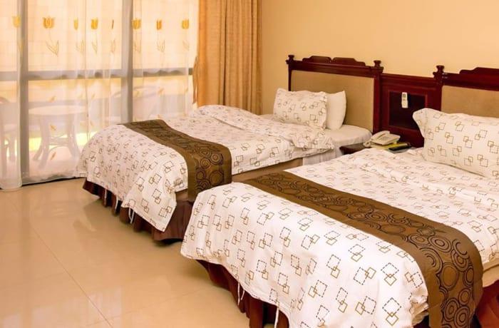 Standard twin room - Single occupancy