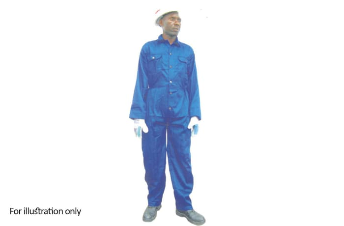 Clothing - Blue overalls with out reflectors