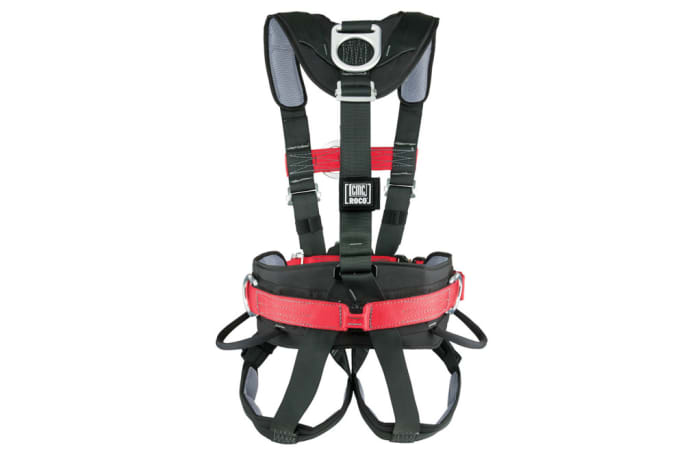 Fall Protection - Full Body Harness with lamp holder