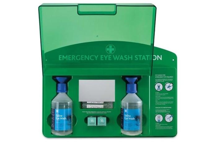 First Aid -   Eye Wash Station