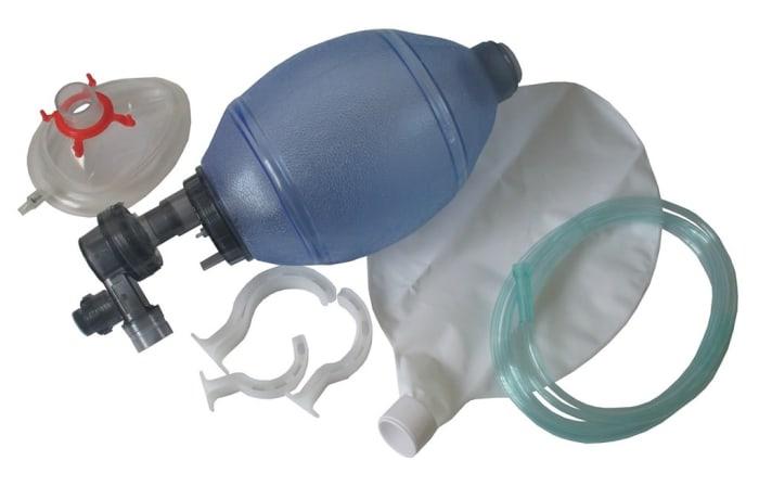 First Aid -  Manual Resuscitator (Ambu Bag)