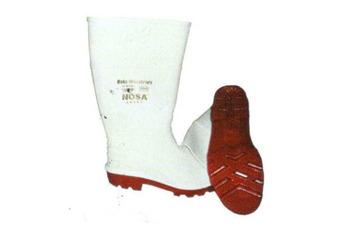 Foot Protection - White Hygiene Gum Boots