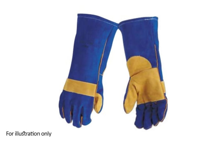 Hand Protection - Leather gloves elbow length
