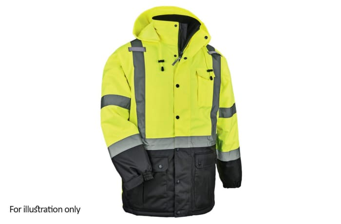 Specialised Clothing -  Hi Vis & Freezer Jackets - Lime High Visibility Reflective