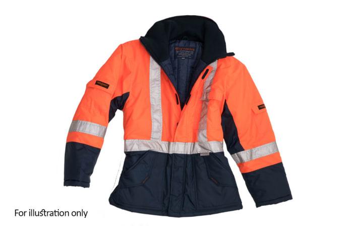Specialised Clothing -  Hi Vis & Freezer Jackets - Orange High Visibility Reflective