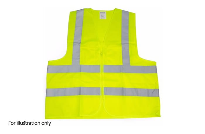 Specialised Clothing -  Hi Vis & Freezer Jackets - Hi Vis Lime reflective vest