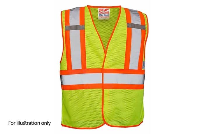 Specialised Clothing -  Hi Vis & Freezer Jackets - Hi Vis Lime reflective vest open mesh