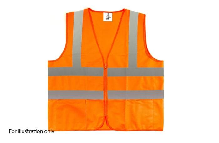 Specialised Clothing -  Hi Vis & Freezer Jackets - Hi Vis Orange reflective vest