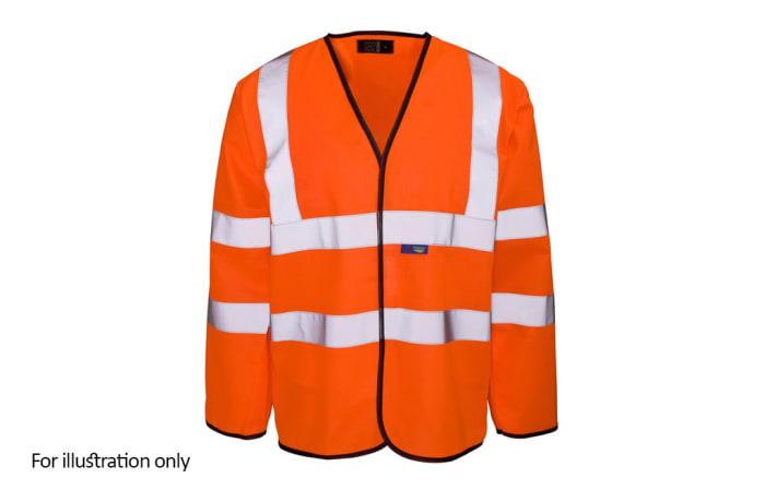 Specialised Clothing -  Hi Vis & Freezer Jackets - Hi Vis  Refective Jackets - Orange