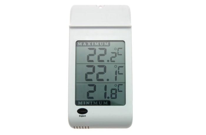 Instrumentation  -  Big Screen Thermometer Max - min