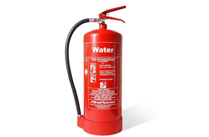 Portable Fire Fighting Equipment - 9L Water Fire Extinguiser