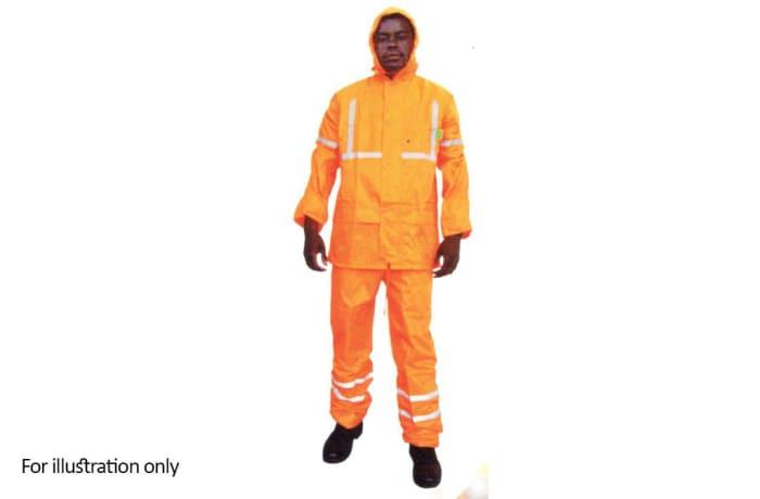 Water Proof Clothing - Hi Vis rain suits, Orange