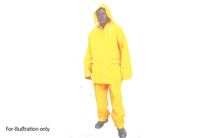 Water Proof Clothing - PVC Rain-suit yellow