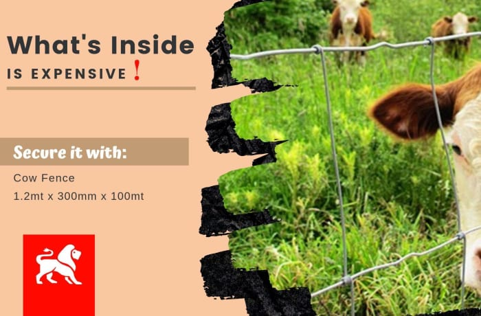 Amazing discounts on cow fence image
