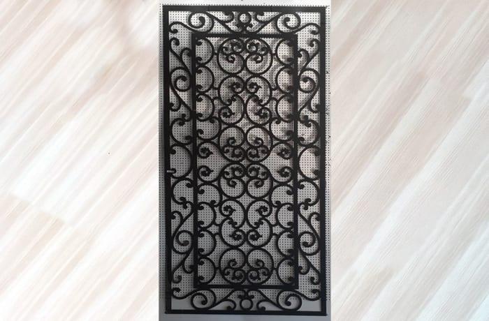 Decorative Metal Grill Panel 01