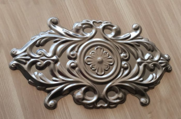Ornamental Decorative Oval 004