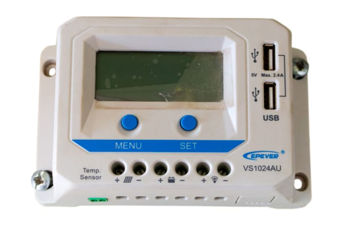 EPEVER Solar Charge Controller with USB Ports Output
