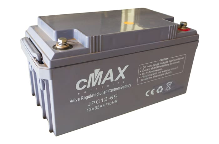 cMax Batteries - JPC12-65