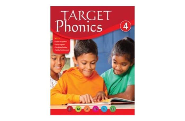 Target Phonics 4  English Pronunciation & Sound Recognition  Work Book