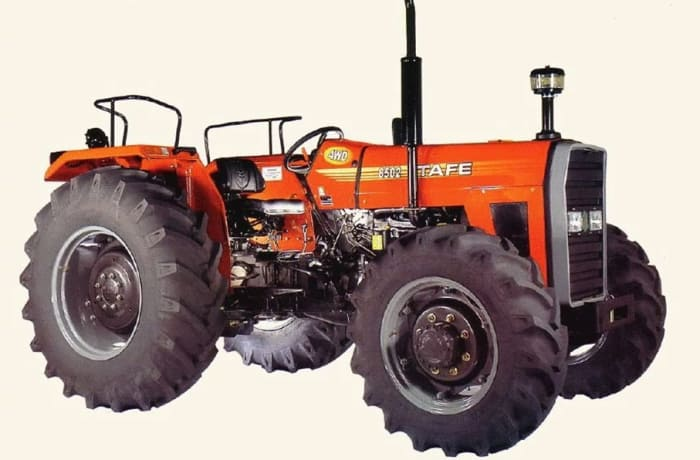 Tractor TAFE 8502 80.5HP 4WD fitted W/S440 engine W/canopy