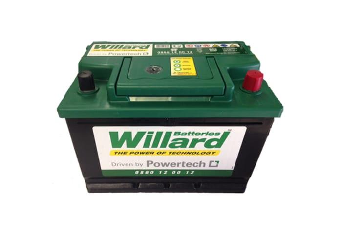 Willard Battery 657