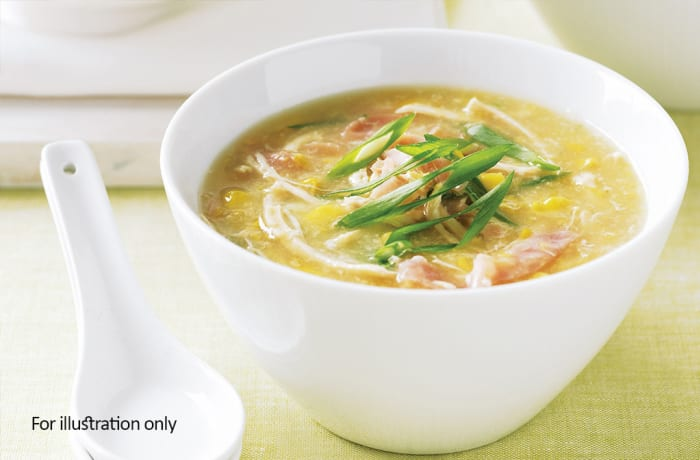 Jacaranda - Chinese Specialities  - Chicken and Corn