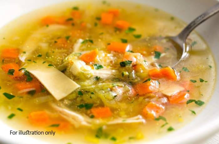 Jacaranda - Wellness Menu - Chicken and Vegetable Broth