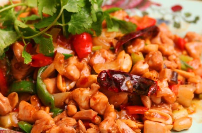 Jacaranda - Chinese Specialities - Chili Chicken with Peanuts
