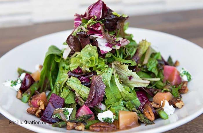 Jacaranda - Wellness Menu - Crispy Country Salad