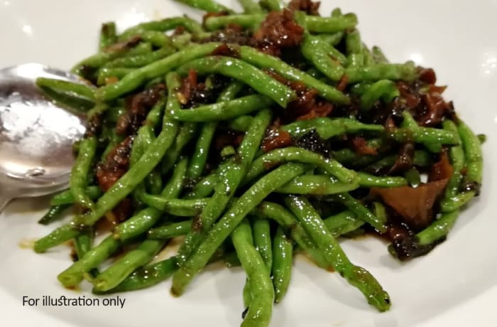 Jacaranda - Chinese Specialities - Green Beans with Cha Choy