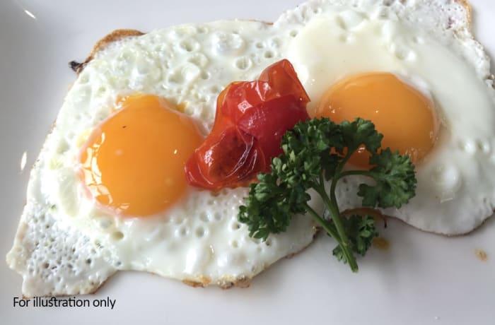 Jacaranda - A La Carte - Eggs Cooked to your Choice