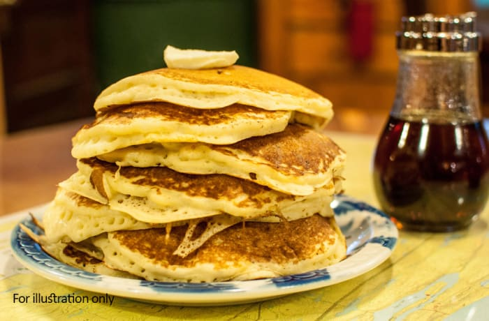 Jacaranda - A La Carte - Pancakes