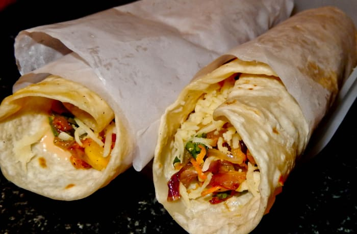 Jacaranda - Sandwiches and Burgers - Vegetable Kathi Roll