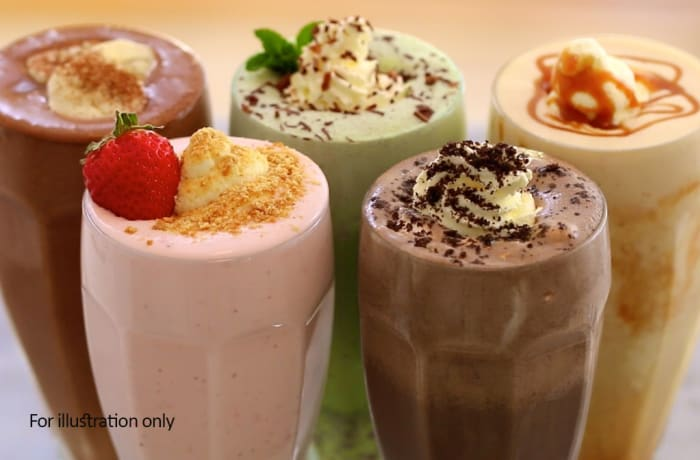 Jacaranda - Hot and Cold Beverages - Milk Shakes