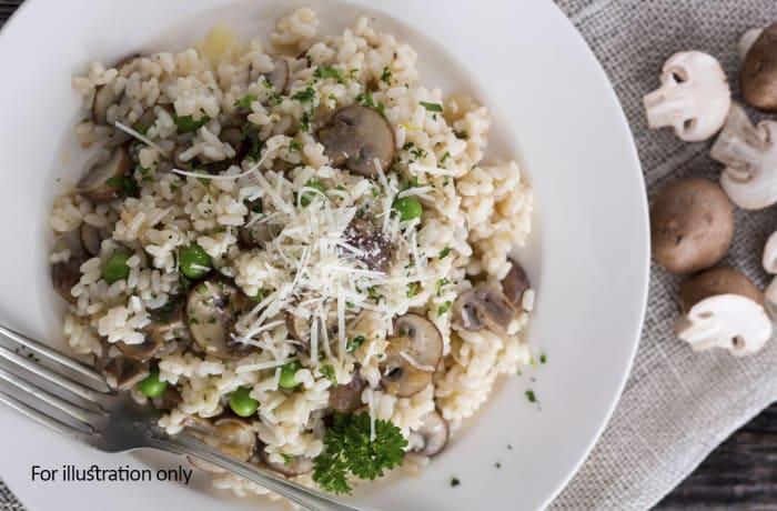 Jacaranda - Pasta and Risotto - Risotto con pollo e funghi