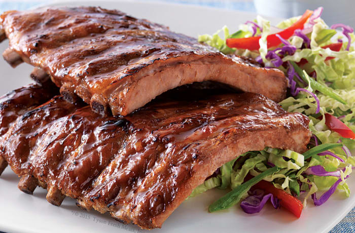 Jacaranda - Chinese Specialities - Slow Fried Pork Ribs Barbeque Sauce
