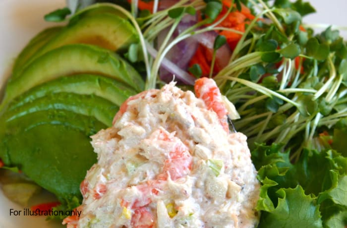 Steaks and Grills - Appetizers and Soups - Brandy Fumed Shrimps and Local Avocado Salad