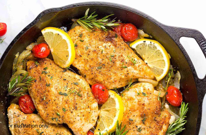 Steaks and Grills - Classics - Moroccan Spiced Lemon Chicken