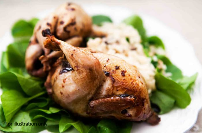 Steaks and Grills - Classics - Slow Roasted Quail