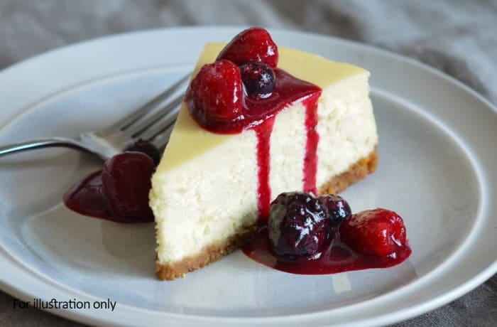 Milile Wedding Option 4 - Dessert - Cheese Cake