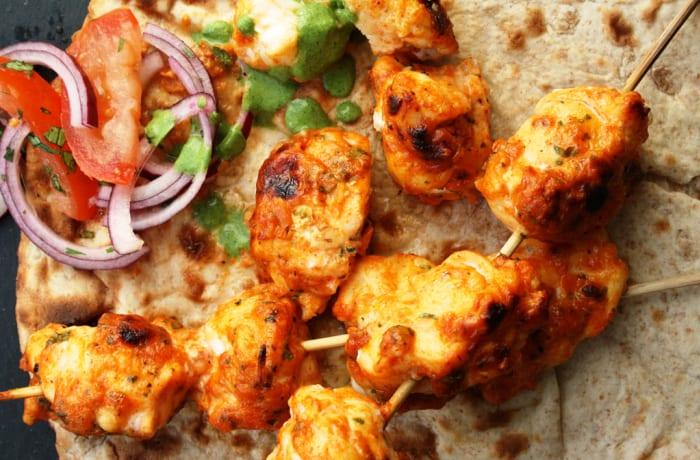 Steaks and Grills - Indian Specialties - Ajwani Macchi Tikka